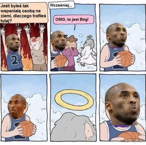 Kobe Bryant w niebie.