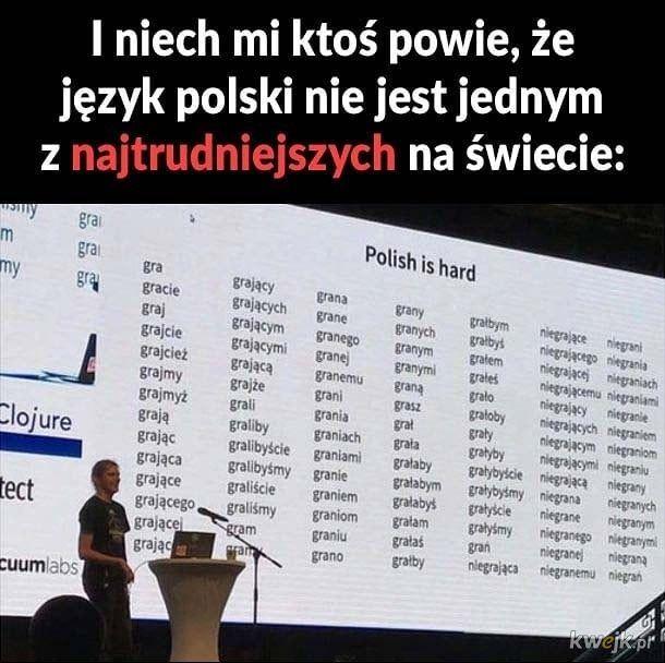 Mój język taki piękny