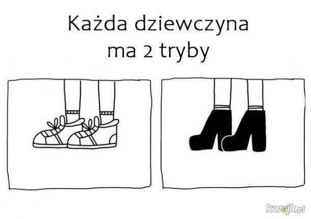 2 tryby dziewczyn