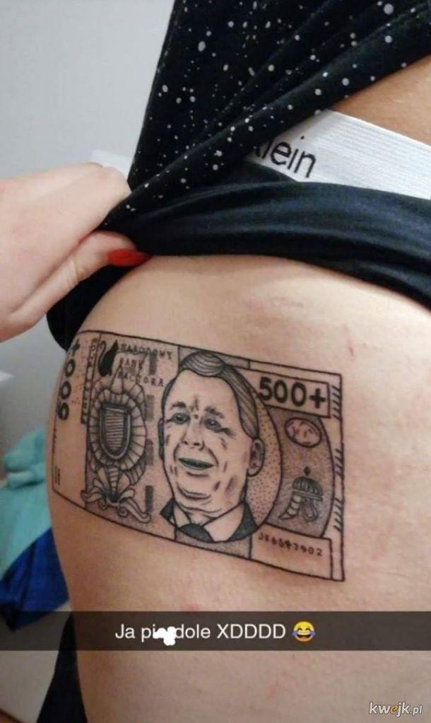 Tatuaż beneficjenta