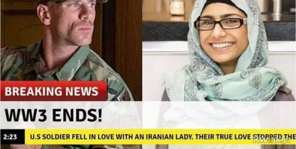 Miłość uchroniła świat przed wojną