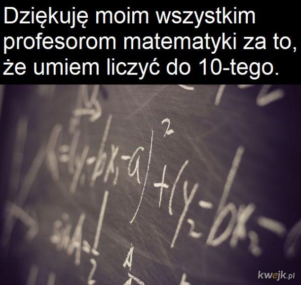 Matematyka królową nałóg
