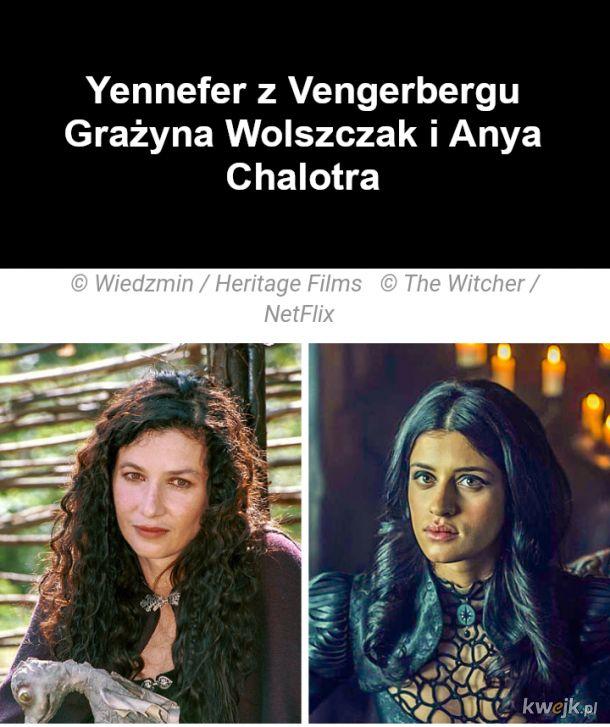 Jak wyglądają bohaterowie z Wiedźmina w ekranizacjach z 2001 i 2019, obrazek 2