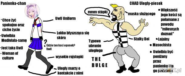 CHAD meme inspirowany przez agataas