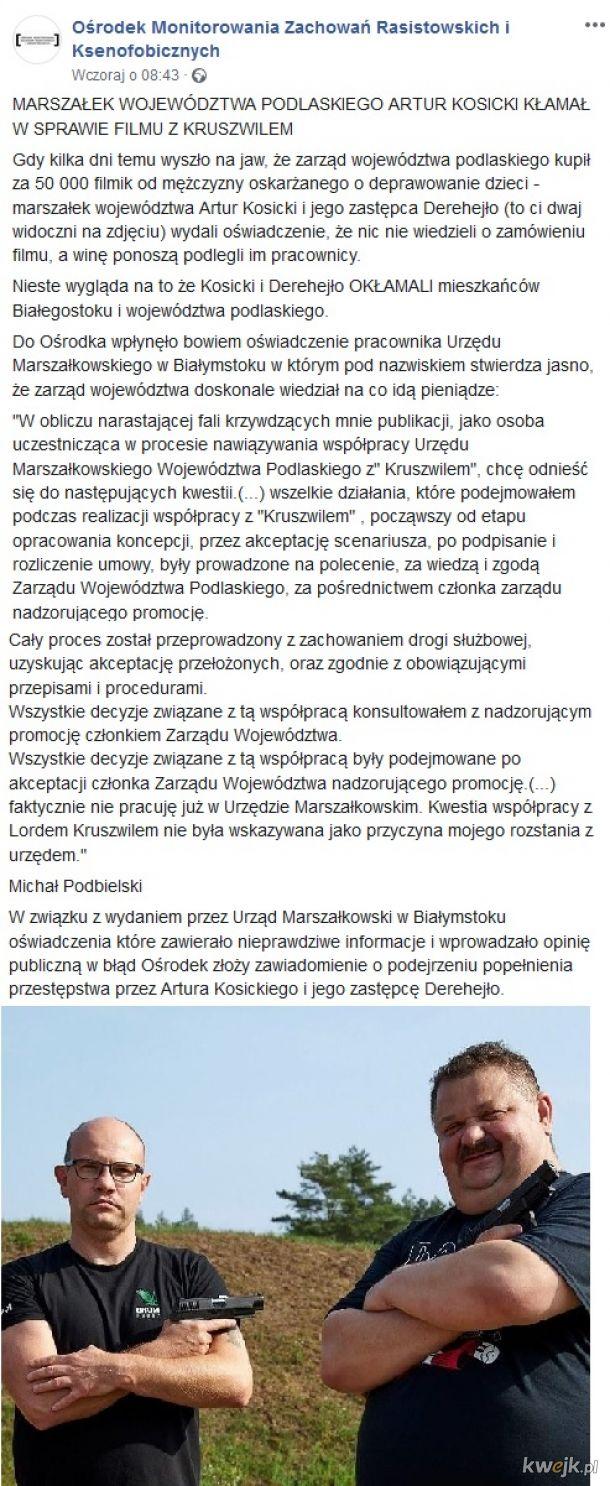 Afera z Kruszwilem - ciąg dalszy