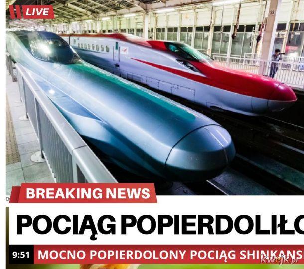 Nos pociągu długi na ponad 20 m