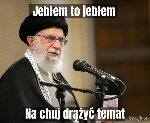 Przyznanie się ajatollaha Chamenei do omyłkowego zestrzelenia ukraińskiego samolotu