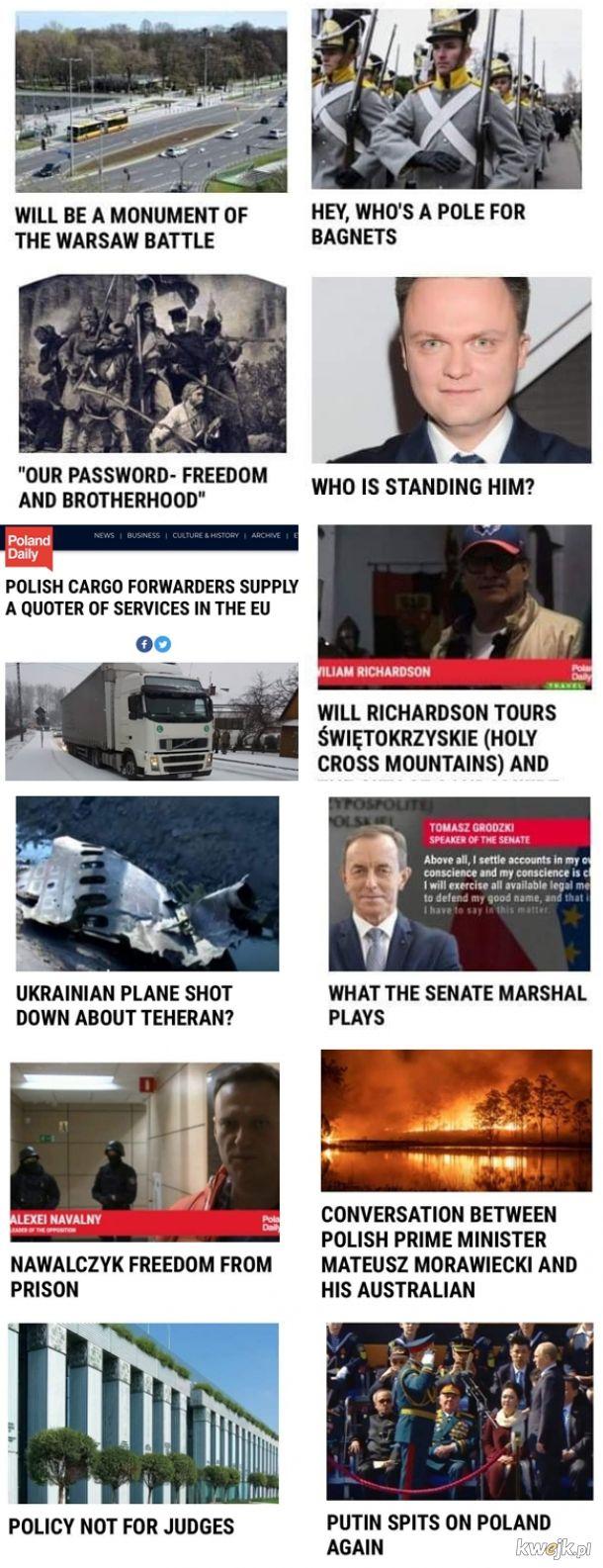 Tymczasem na portalu Poland Daily redagowanym przez Tv Republika