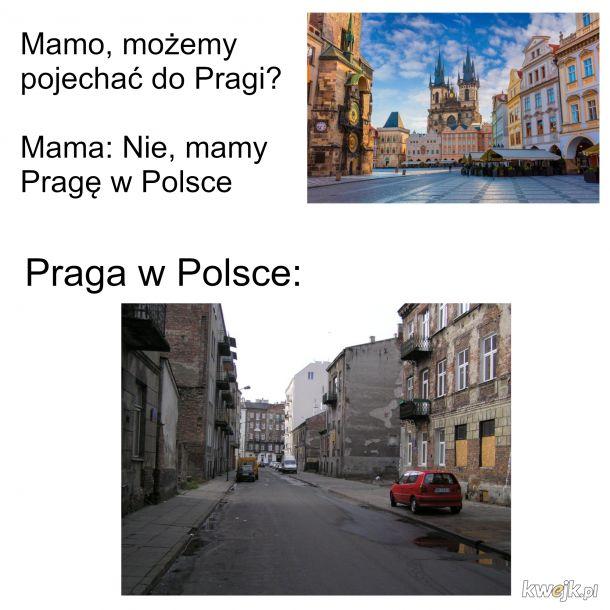 Mamo, możemy pojechać do Pragi?