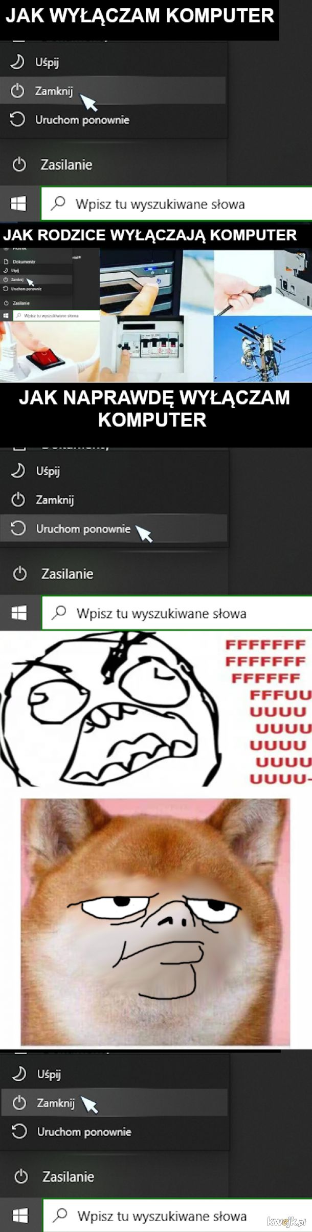 Wyłączanie komputera