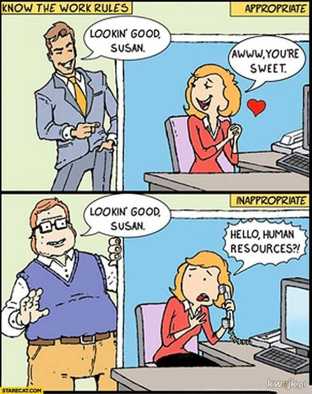 Flirt vs. molestowanie
