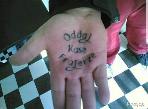 Taktyczny tatuaż