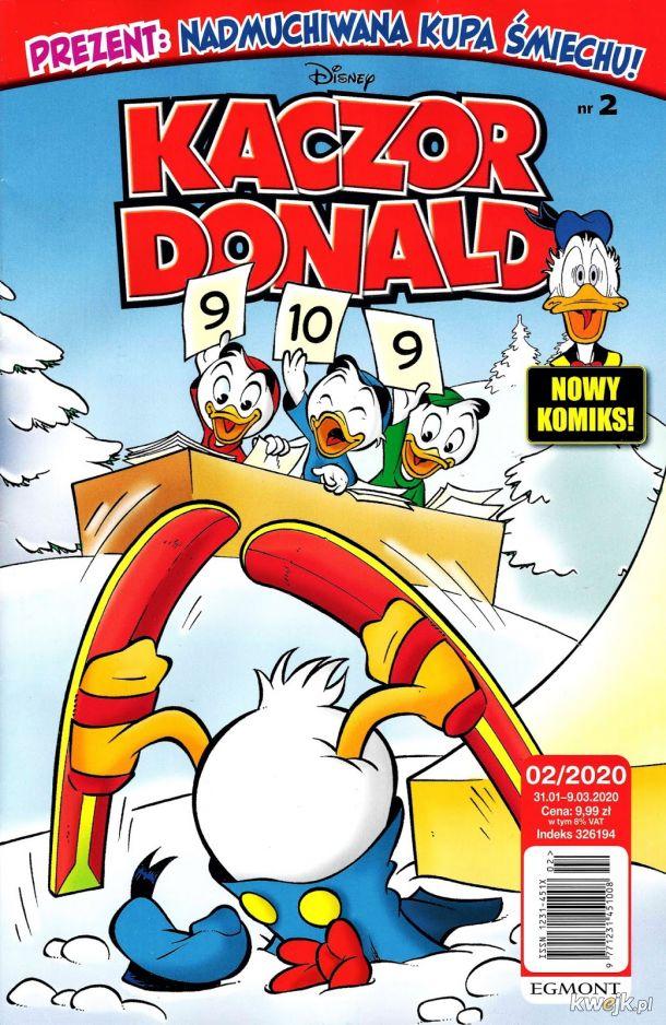 Kaczor Donald 2020-02 już w sprzedaży !