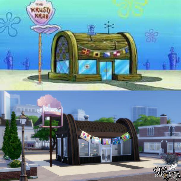 Tłusty Krab w The Sims 4