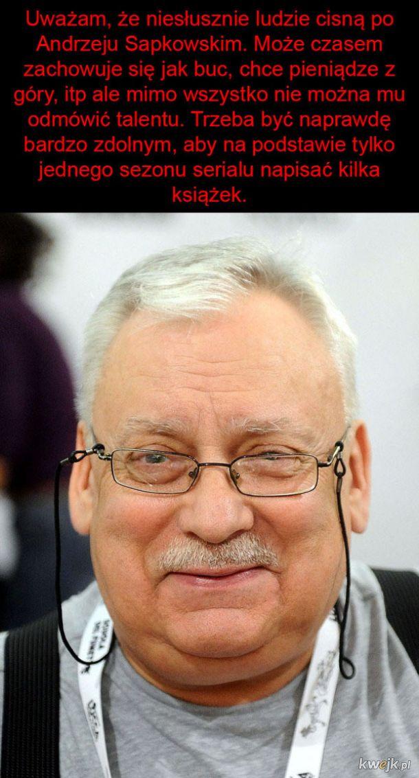 Sapkowski to mimo wszystko geniusz!