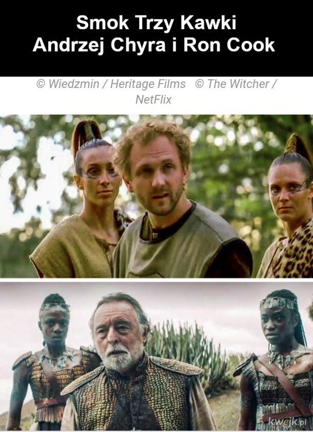 Jak wyglądają bohaterowie z Wiedźmina w ekranizacjach z 2001 i 2019, obrazek 10