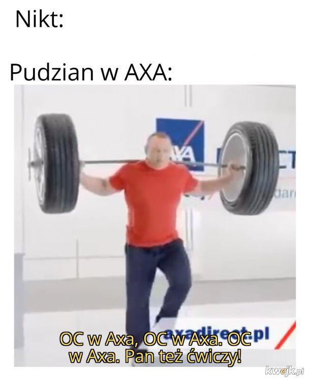 Pan też ćwiczy!