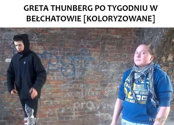 Greta w Polsce