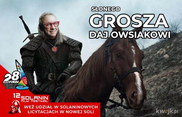 Grosza daj Owsiakowi