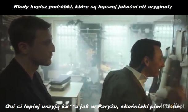 """Jacek z """"Ślepnąc od świateł"""" o chińskich podróbkach"""