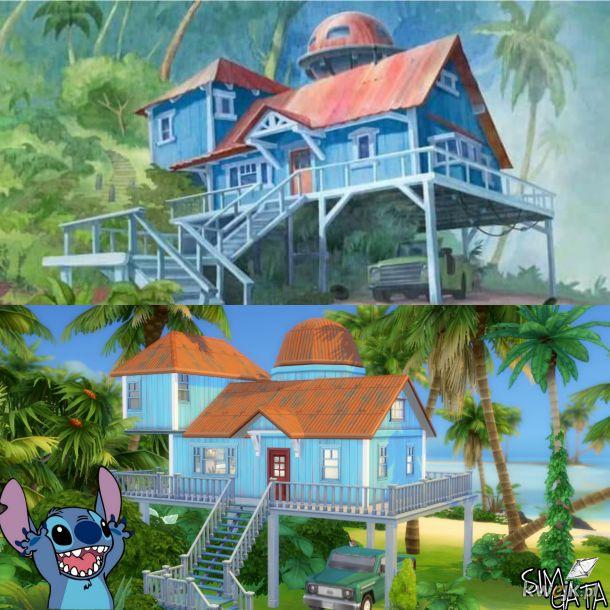 Lilo & Stich w The Sims  4