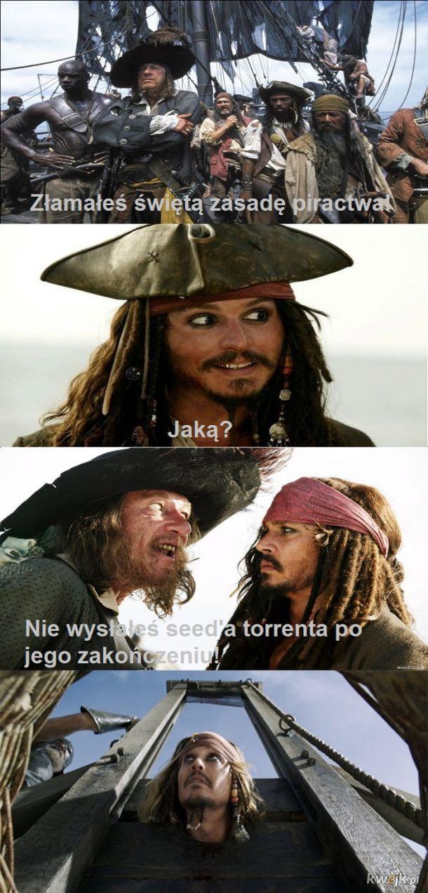 Święta zasada piractwa