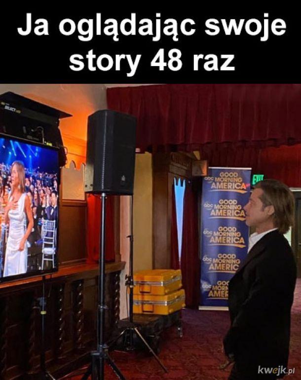 Moje story