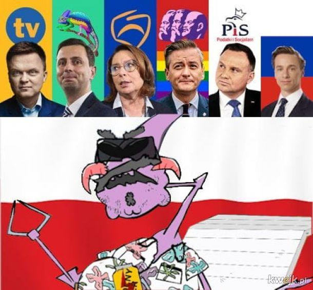 W tym roku wybory - kandydat jest tylko jeden
