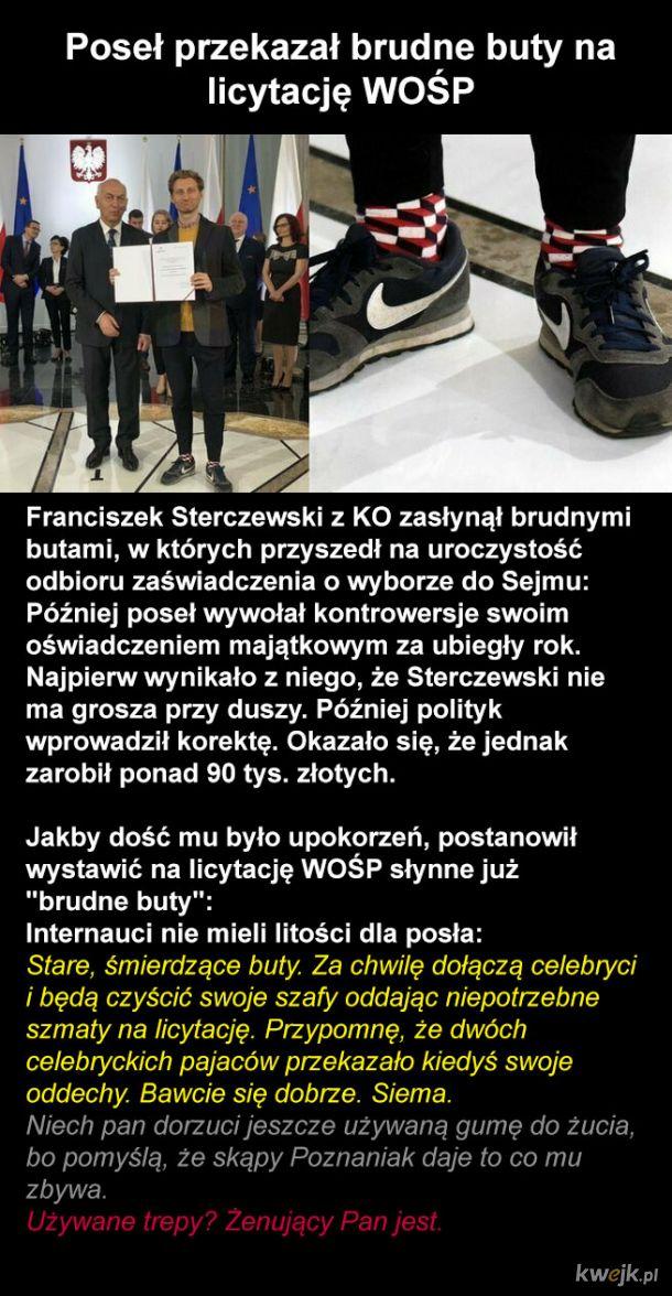 Buty na WOŚP