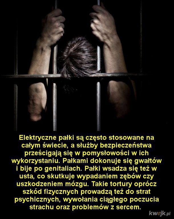 Najokrutniejsze metody przesłuchań, które nadal są stosowane w wielu państwach