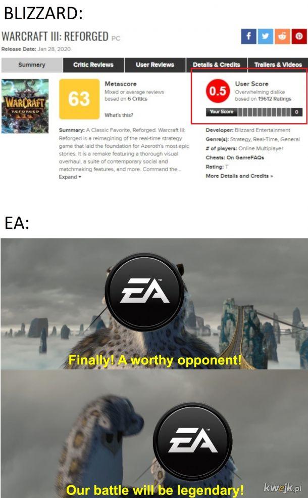 Nowy godny przeciwnik dla EA i Berhesdy