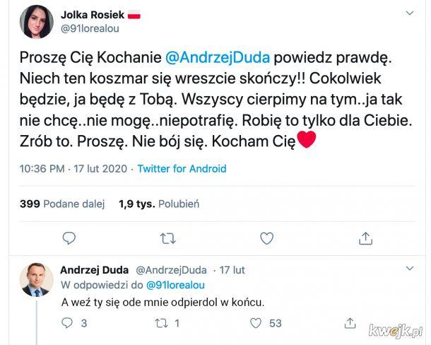 Andrzej przemówił!