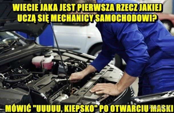 Podstawy mechanikowania