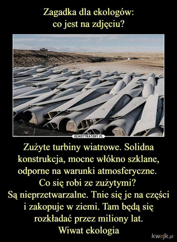 Ekologiczne wiatraki!