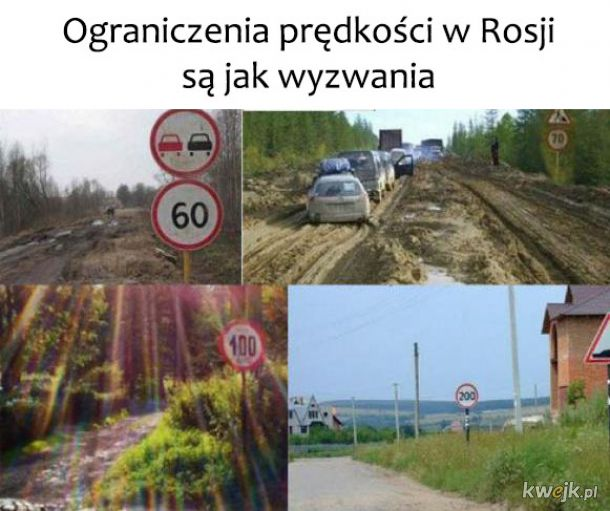 Drogi w Rosji