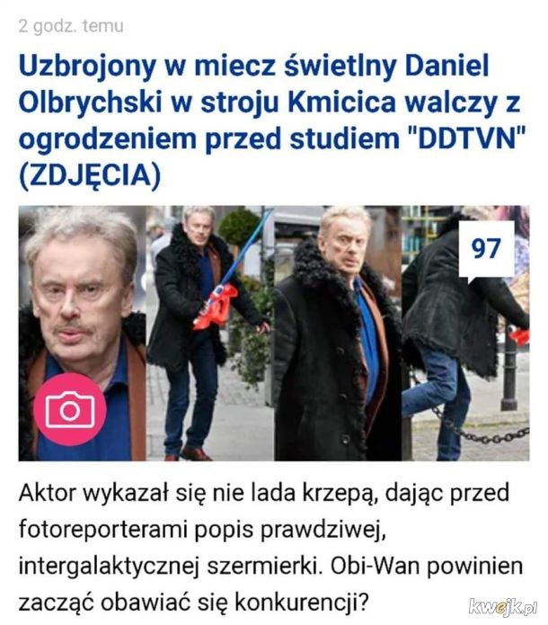 Let the hate flow through you, Andrzej