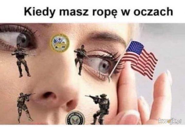 Ropa w oczach