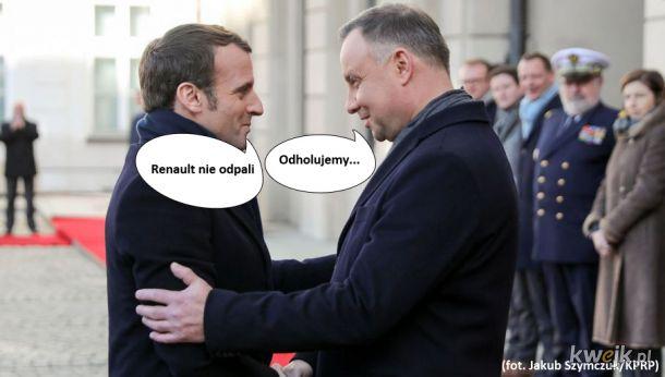 Macron promuje zero emisyjny francuski samochód