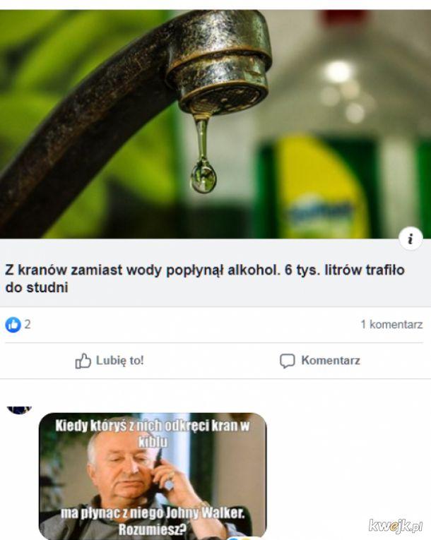 Alkohol z kranu