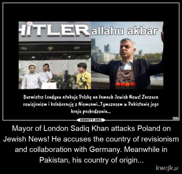 Sadiq Khan pusty dzban