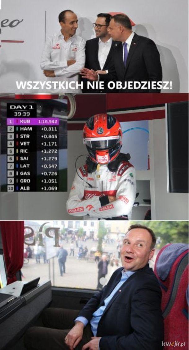 Robert Kubica wrócił i to jak!