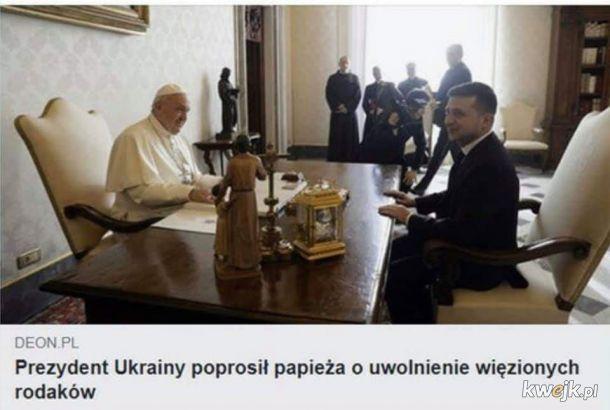 Dlaczego papież więzi Ukraińców :(