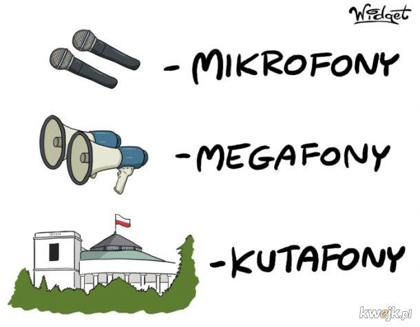 Mikrofony, megafony...