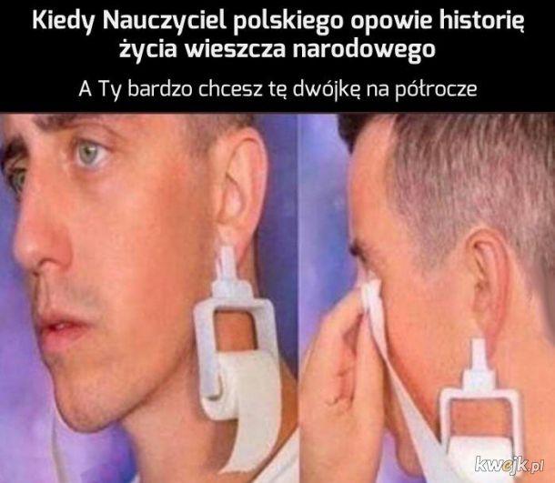 Mickiewicz WIELKIM POETOM BYŁ