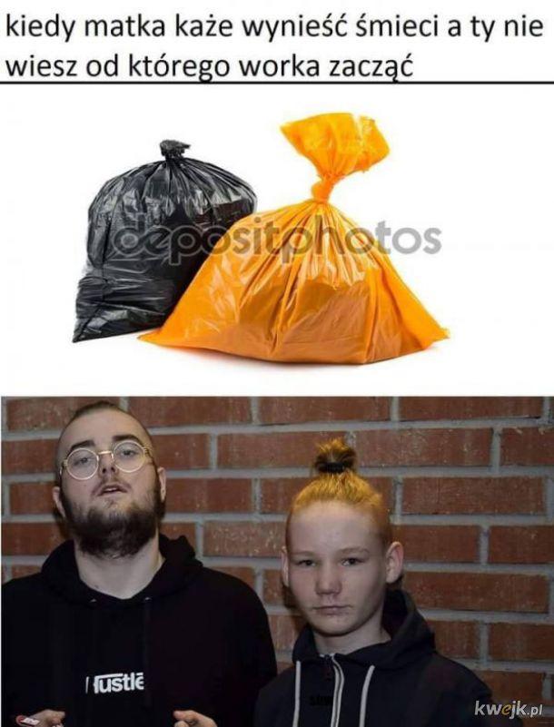 Wynoszenie śmieci