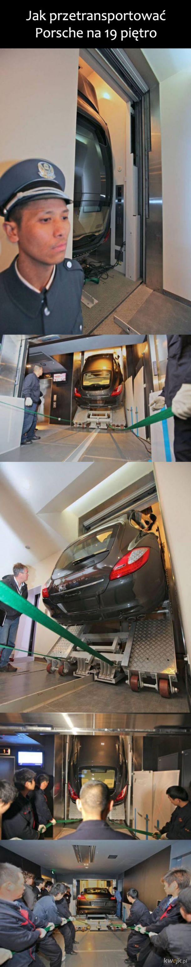 Transport Porsche