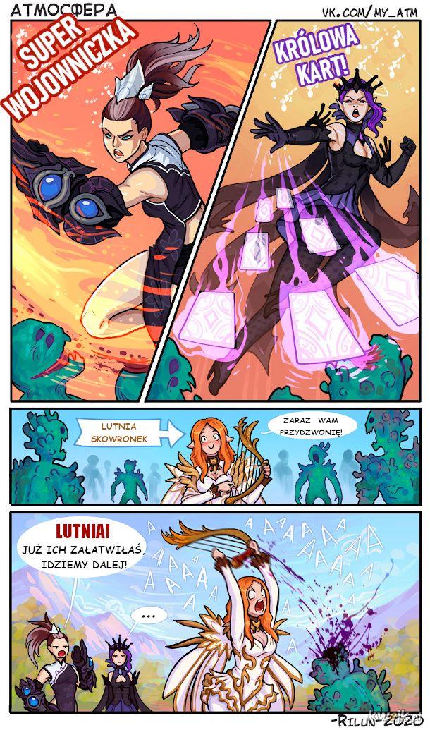Super-bohaterskie Trio Dziewczyn Fantasy