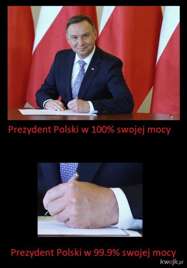 Magiczny ołówek prezydenta Polski