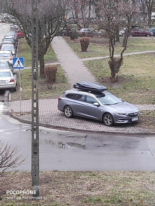 Miszczu parkowania z Sosnowca, bo ja mogę