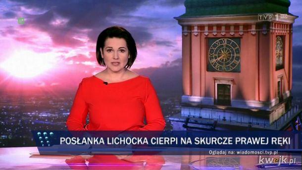 Obraźliwy gest Joanny Lichockiej - internauci nie śpią
